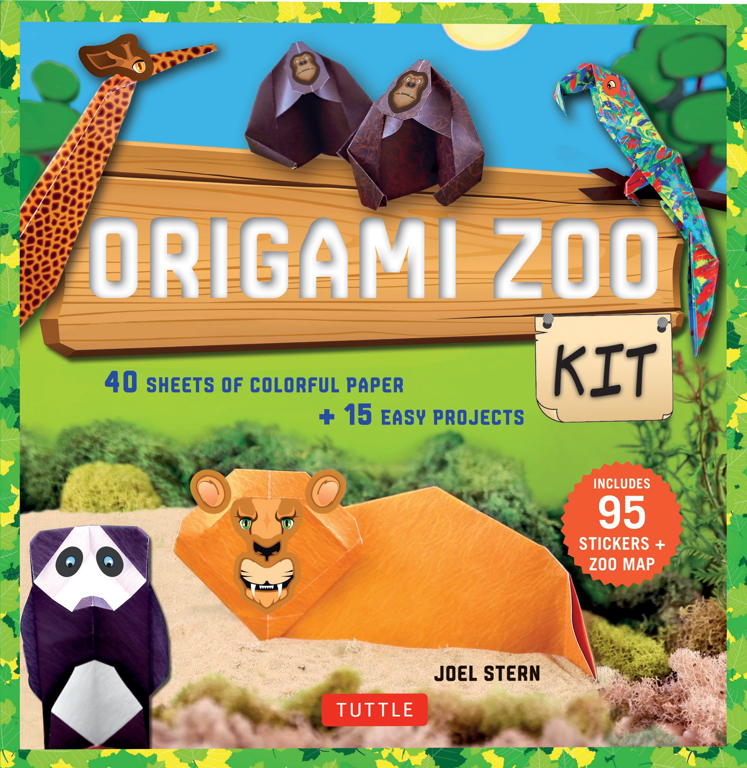 Origami zoo kit cover